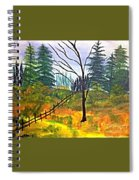 Autumn Morning In The Wild Spiral Notebook