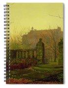 Autumn Morning Spiral Notebook