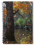 Autumn Mountains Spiral Notebook