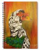 Autumn Muscovy Portrait Spiral Notebook