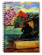 Autumn Music Spiral Notebook
