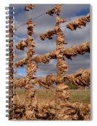 Autumn Net Spiral Notebook