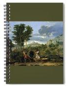 Autumn Nicolas Poussin Spiral Notebook