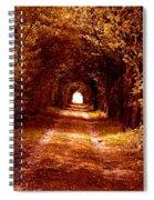 Autumn Of Life Spiral Notebook