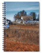 Autumn On A Rural Farm Spiral Notebook