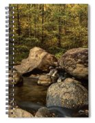 Autumn On The Creek  Spiral Notebook