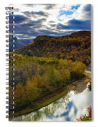 Autumn On The Genesee Spiral Notebook