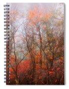 Autumn On The Mountain Spiral Notebook
