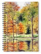 Autumn Oranges Spiral Notebook