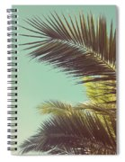 Autumn Palms Spiral Notebook