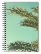 Autumn Palms II Spiral Notebook