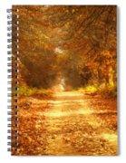 Autumn Paradisium Spiral Notebook