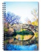 Autumn Park Spiral Notebook