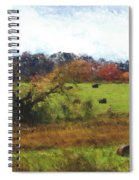 Autumn Pasture Spiral Notebook