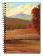 Autumn Pastures Spiral Notebook