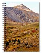 Autumn Peaks In The Rockies Spiral Notebook