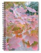 Autumn Pink Spiral Notebook