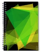 Autumn Polygon Pattern Spiral Notebook