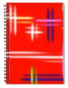Autumn Pulse Spiral Notebook