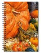 Autumn - Pumpkin - All Of My Relatives Spiral Notebook