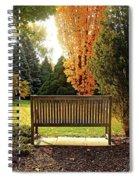 Autumn Quiet Spiral Notebook