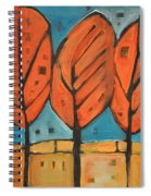 Autumn Quilt Spiral Notebook