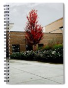 Autumn Rain Spiral Notebook