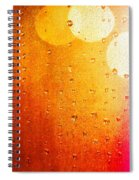 Autumn Raindrops Spiral Notebook