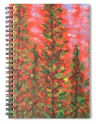 Autumn Vivaldi Spiral Notebook