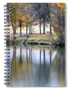 Autumn Reflection 16 Spiral Notebook