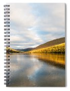 Autumn Reflection At Arrochar Spiral Notebook