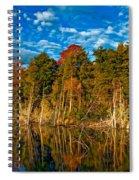 Autumn Reflection II Spiral Notebook