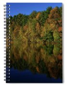 Autumn Reflection Of Colors Spiral Notebook