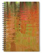 Autumn Reflections Abstract Spiral Notebook