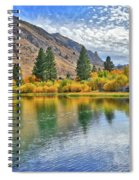 Autumn Reflections At Intake Lake II Spiral Notebook