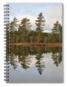 Autumn Reflector Spiral Notebook
