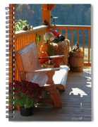 Autumn Retreat Spiral Notebook