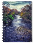 Autumn Riders On The Storm Spiral Notebook