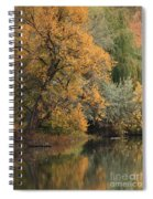 Autumn Riverbank Spiral Notebook