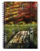 Autumn Serenity Spiral Notebook