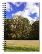 Autumn Skies Spiral Notebook