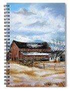 Autumn Slips Away Spiral Notebook