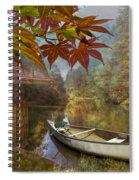 Autumn Souvenirs Spiral Notebook