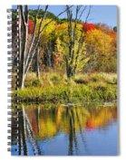 Autumn Splendor - Bolton Flats Spiral Notebook