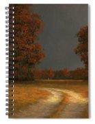 Autumn Storm 4 Spiral Notebook