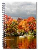 Autumn Storm Coming Spiral Notebook