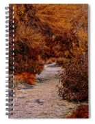 Autumn Stroll No23 Spiral Notebook