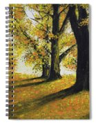 Autumn Sunny Day Spiral Notebook