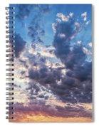 Autumn Sunrise - Lyme Regis Spiral Notebook