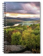 Autumn Sunset In The Catskills Spiral Notebook
